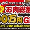 マルカン ゴン太のスタミナUPキャンペーン!