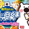 丸永製菓 夏は白くまキャンペーン【抽選で合計650名様に当たる!】