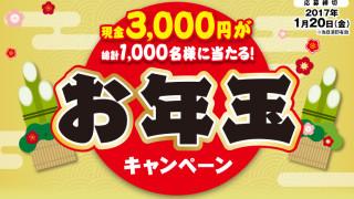 伊藤ハム 現金3000円が当たる!お年玉プレゼントキャンペーン